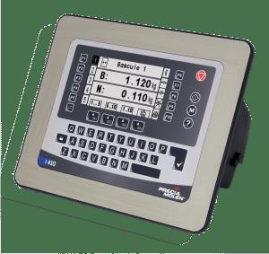 indicateur de pesage encastrable I410 - D