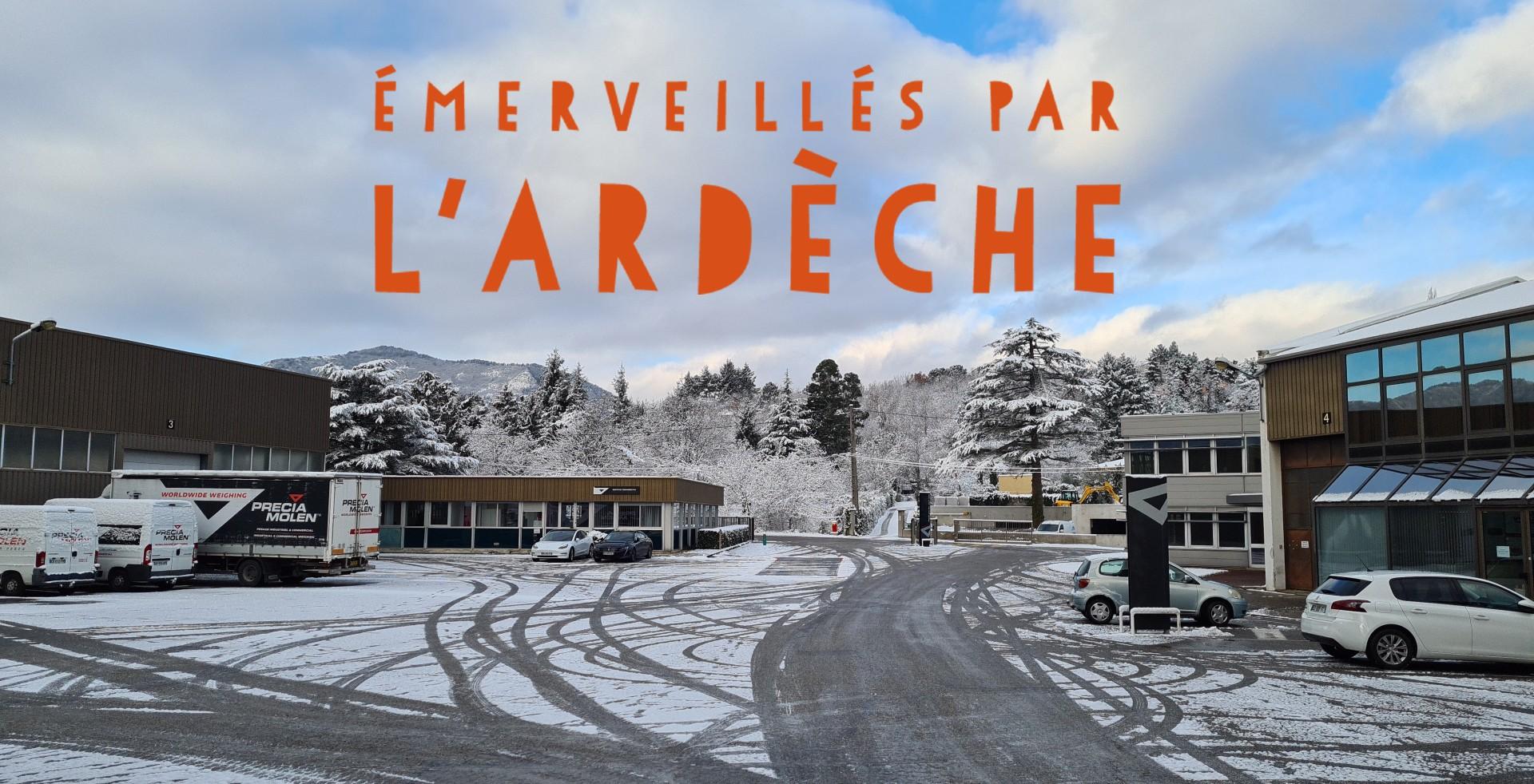 PRECIA MOLEN est adhérente de la marque de territoire « Emerveillés par l'Ardèche »