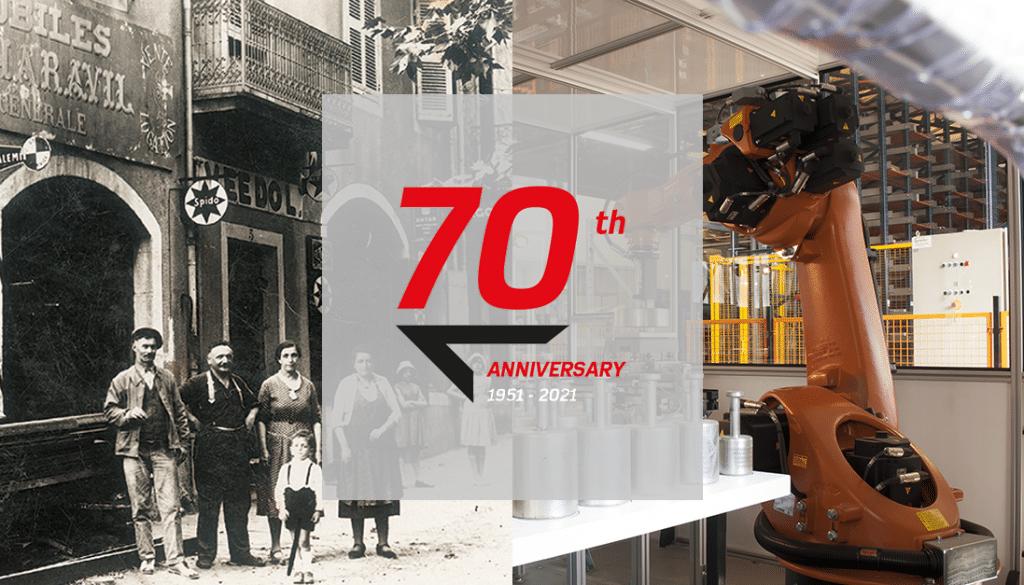 PRECIA MOLEN fête ses 70 ans en 2021